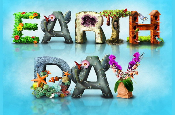 Celebrate-our-world-animals-April-22-beauty-Earth-Day-nature-plants-words